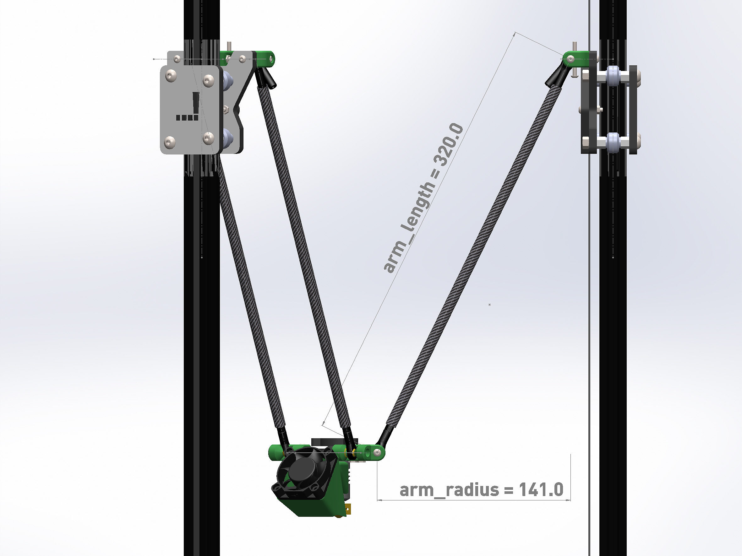 deltadings ein delta 3d drucker zum selbstbau rhdt. Black Bedroom Furniture Sets. Home Design Ideas